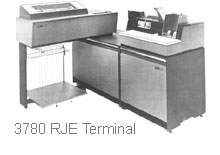 IBM 3780 RJE Terminal. Click for a larger view.